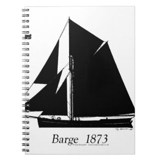 1873 Barge - tony fernandes Notebooks