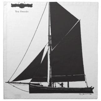 1873 Bawley - tony fernandes Napkin