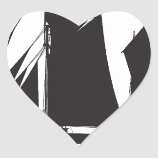 1873 trading ketch - tony fernandes heart sticker