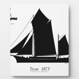 1873 trow - tony fernandes plaque