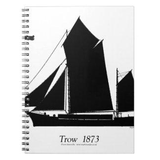 1873 trow - tony fernandes spiral notebook