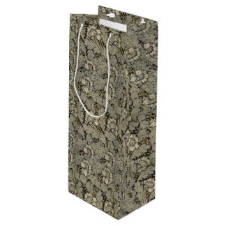 1876 Vintage William Morris  Anemone Wine Gift Bag
