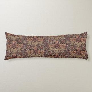 1876 Vintage William Morris Honeysuckle Body Cushion
