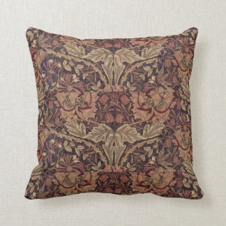 1876 Vintage William Morris Honeysuckle Cushion