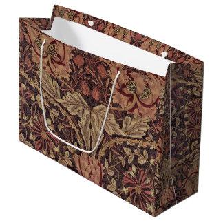 1876 Vintage William Morris Honeysuckle Large Gift Bag