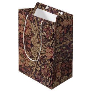 1876 Vintage William Morris Honeysuckle Medium Gift Bag