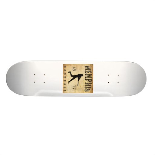 1877 Memphis Tennessee Baseball Skateboard