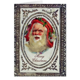 1878: A Victorian Christmas greetings card