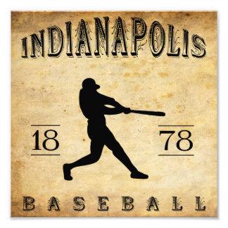 1878 Indianapolis Indiana Baseball Photo