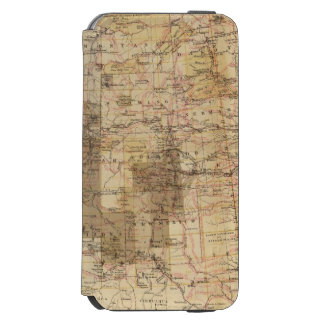 1878 Progress Map of The US Geographical Surveys 2 Incipio Watson™ iPhone 6 Wallet Case