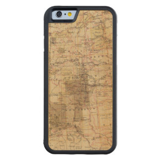 1878 Progress Map of The US Geographical Surveys 2 Maple iPhone 6 Bumper Case