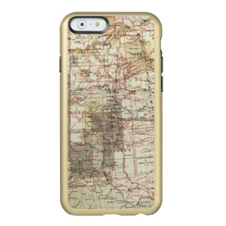 1878 Progress Map of The US Geographical Surveys Incipio Feather® Shine iPhone 6 Case