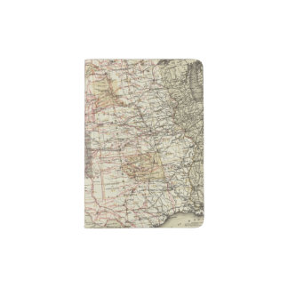 1878 Progress Map of The US Geographical Surveys Passport Holder