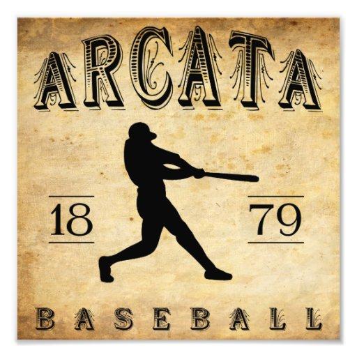 1879 Arcata California Baseball Photo Art