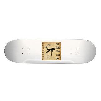 1879 Omaha Nebraska Baseball 19.7 Cm Skateboard Deck