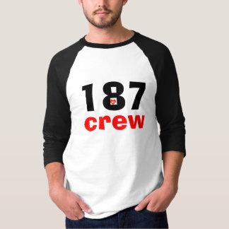 187 crew custom special edition shirt-a v2dheart p T-Shirt