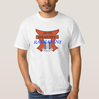 187th Infantry T-Shirt with torri and dui design