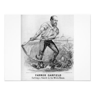 1880 Garfield Invitations