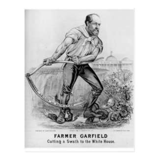 1880 Garfield Postcard