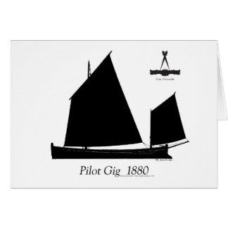 1880 Pilot Gig - tony fernandes Card