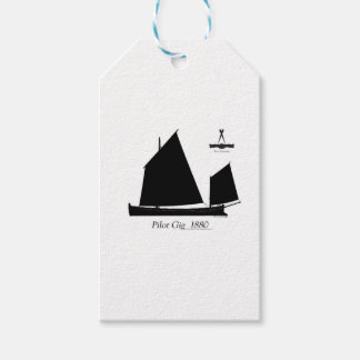 1880 Pilot Gig - tony fernandes Gift Tags