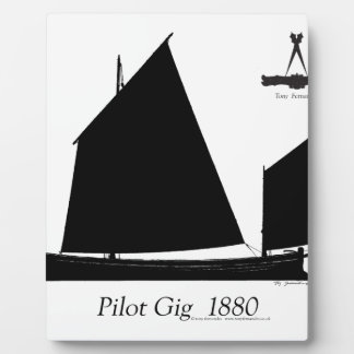 1880 Pilot Gig - tony fernandes Plaque
