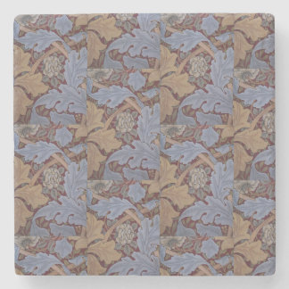 1880 William Morris St James Palace Wallpaper Stone Coaster