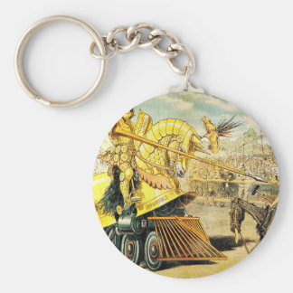 1880s A Tournament of Today Puck Graetz Key Chain