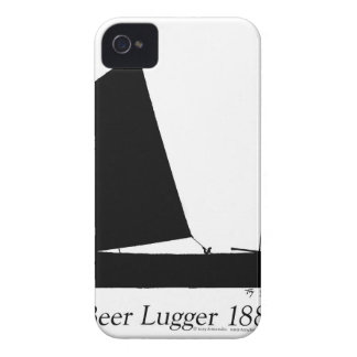 1881 Beer Lugger - tony fernandes iPhone 4 Covers
