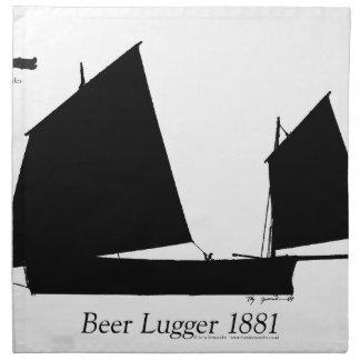 1881 Beer Lugger - tony fernandes Napkin