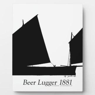 1881 Beer Lugger - tony fernandes Plaque