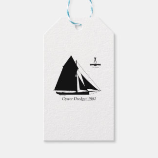 1882 Oyster Dredger - tony fernandes Gift Tags