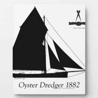 1882 Oyster Dredger - tony fernandes Plaque