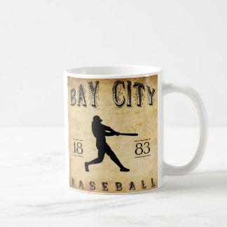 1883 Bay City Michigan Baseball Coffee Mug