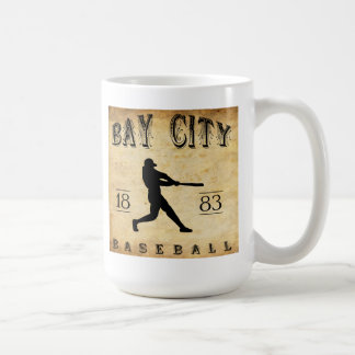 1883 Bay City Michigan Baseball Coffee Mugs