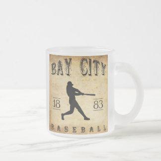 1883 Bay City Michigan Baseball Mug