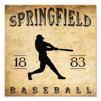 1883 Springfield Illinois Baseball Photo Print