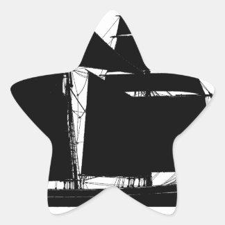 1883 topsail schooner - tony fernandes star sticker