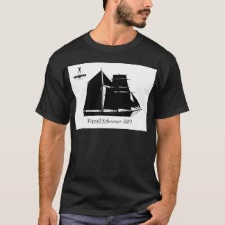 1883 topsail schooner - tony fernandes T-Shirt