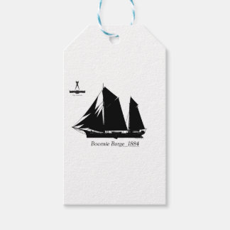 1884 Boomie barge - tony fernandes Gift Tags