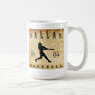 1884 Dallas Texas Baseball Mug