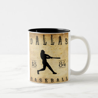 1884 Dallas Texas Baseball Coffee Mugs
