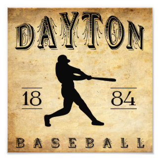 1884 Dayton Ohio Baseball Photographic Print