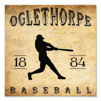 1884 Oglethorpe Georgia Baseball Photograph