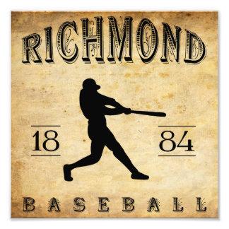 1884 Richmond Virginia Baseball Photo Print