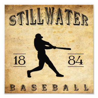 1884 Stillwater Minnesota Baseball Photo Art