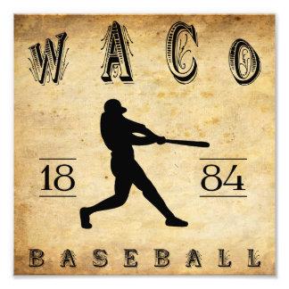 1884 Waco Texas Baseball Photo