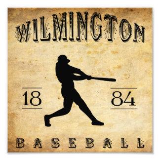 1884 Wilmington Delaware Baseball Photo Art