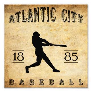 1885 Atlantic City New Jersey Baseball Photographic Print