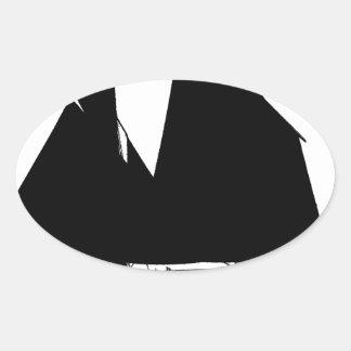 1885 Manx Nickey - tony fernandes Oval Sticker